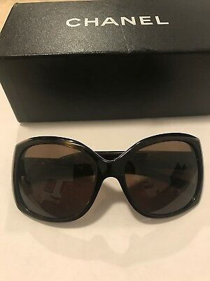 7fc99d492751 CHANEL TORTOISE SHELL Sunglasses Model 4209 in CHANEL leather case ...