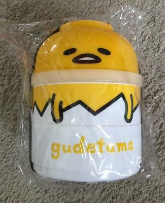 SANRIO Loot Crate Gudetama Bento lunch Box NEW Sealed In Bag - Ships Fast!