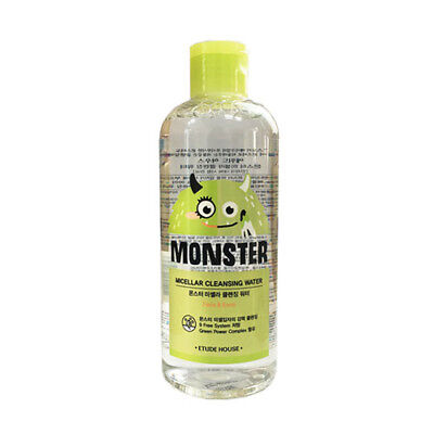 [ETUDE HOUSE] Monster Micellar Cleansing Water - 300ml (US SELLER)