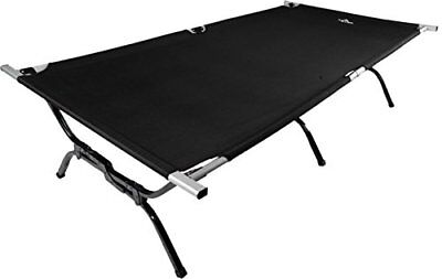 Cot Folding Bed Guest Camping Travel Hunting Hiking Military XXL Free StorageBag