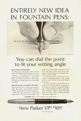 1962 Vintage ad Parker Pen/New Parker VP/Dial the Point (070513)