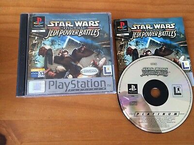 Star Wars Psx Jedi Power Battles