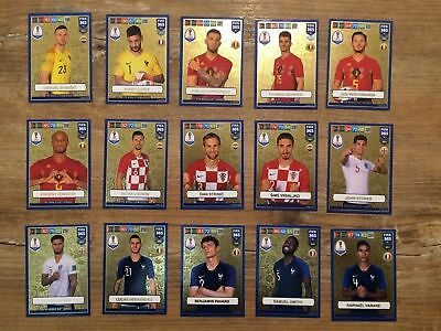 Panini FIFA 365 2019 Adrenalyn XL GOLD cards FIFA World Cup Heroes
