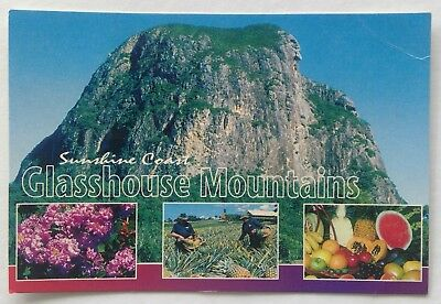 Glasshouse Mountains Sunshine Coast 2001 Postcard (P337)