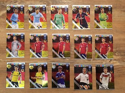 Panini FIFA 365 2019 Adrenalyn XL GERMAN STAR cards