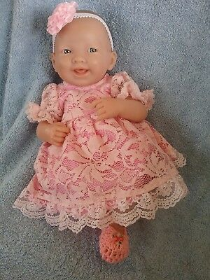 HANDMADE DOLLS CLOTHES for 36cm Berenguer baby doll (2 to choose from)