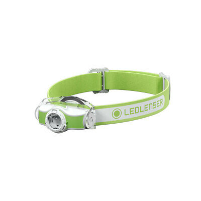 Led Lenser MH5 400 Lumen Rechargeable Headlamp - Green