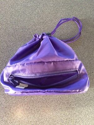 Purple Storage Bag For Baby Monitors Travel Bag