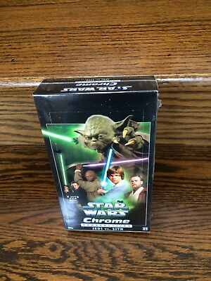 '15 Topps Star Wars Chrome Perspectives JEDI VS SITH HOBBY Trading Card Yoda Box