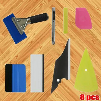 8 in1 Squeegee Car Window Tinting Auto Film Install Wrapping Applicator Tools US
