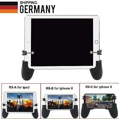 Mobile Gamepad Gaming Trigger L1R1 Shooter Controller PUBG for iPad iPhone X 8