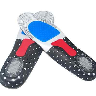 1X Unisex Gel Orthotic Sport Running Insole Insert Shoe Pad Arch Support Cushion
