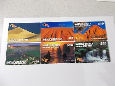 Australia  Phonecards  Oz Card  Atug 5 Min Rare $5 And $10 Rare Issues  C47