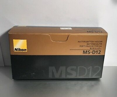Genuine Nikon MS-D12 AA Battery Holder Tray for MB-D12