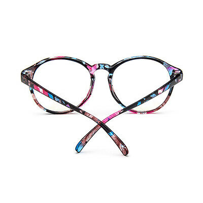 Pop Ladies Clear Transparent Optical Glasses Frame Eyeglasses With Clear Glass