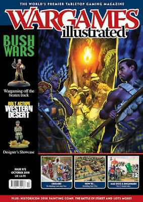 Wargames Illustrated 372 Oktober 2018 (Englisch) Tabletop Miniatur Magazin