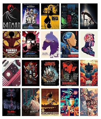 Greatest Movie TV SHOW Classic Vintage Art Poster Print BUY 1 GET 2FREE 80Design