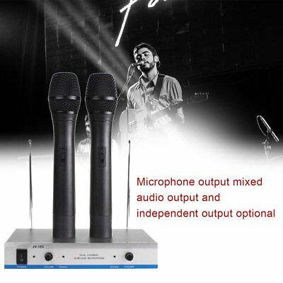 2 Shure SM58 Dynamic Vocal HandHeld Live Microphone &J-105 Dual Channel Mic ZL