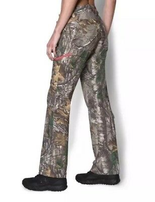 11f20d630df91 $90 Under Armour Realtree Xtra Women's 10 Scent Control Camo Pants 1260162 -946