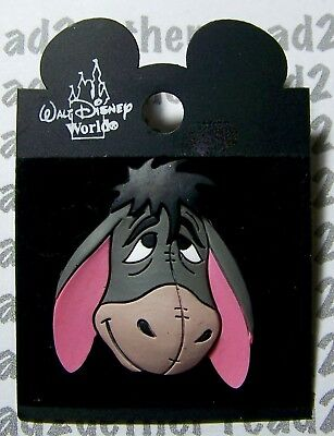 Disney Pin WDW Rubber Head Eeyore