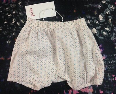 Seed Baby Girls Shorts 0-3 Months 000 New