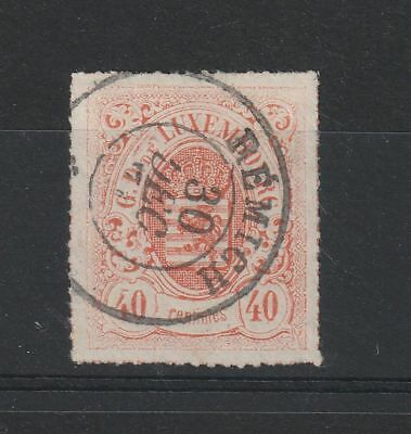Luxembourg 1865 Mi # 23a vf used
