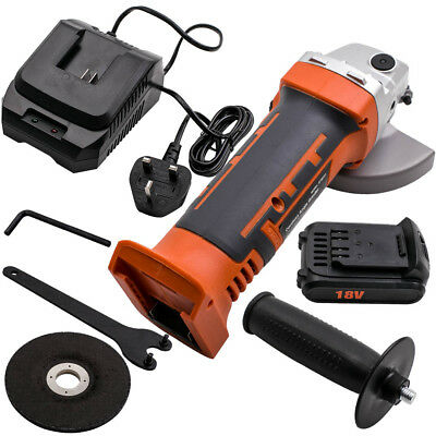 """HEAVY DUTY SILVERLINE 800W 4.5"""" 115MM Spindle M14 ELECTRIC ANGLE GRINDER"""