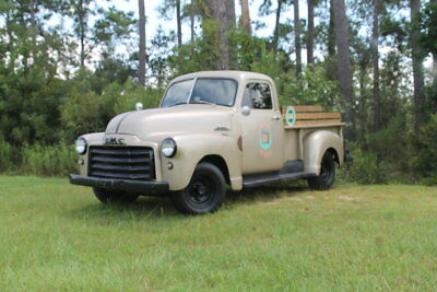1952 GMC 3100 -- 1952 GMC 3100  0 Brown Or Taupe Pickup Truck 231 Buick V6 350, daily driver