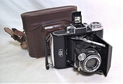 Zeiss Super Ikonta 531 Rangefinder W/ Tessar 7.5Cm 3.5 Gorgeous Clean & Working