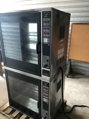 Henny Penny Double Stack Scr-8 Electric Commercial Rotisserie Chicken/ Beef