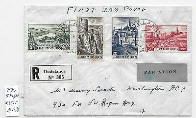 Lot a21  LUXEMBOURG  >  nice old FD-Cover , 650.00 Euros   !!!
