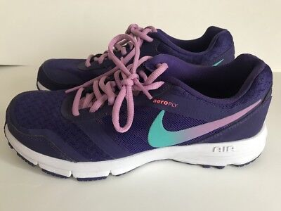 Nike aeroply air trainers reslon womens UK 5 EU 38.5  purple ONLY BEEN WORN ONCE