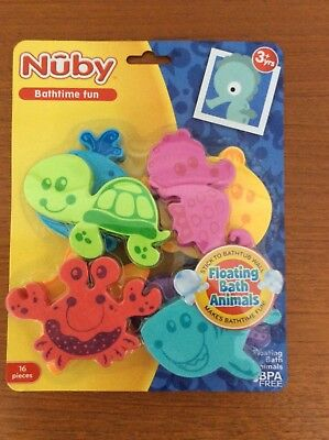 Nuby  Bathtime Floating Animals