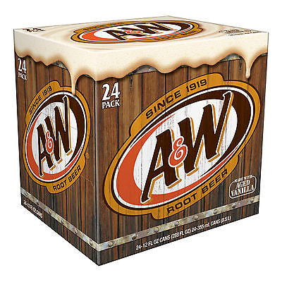 A&W Root Beer 24 Dosen Cans USA 24 x 330ml
