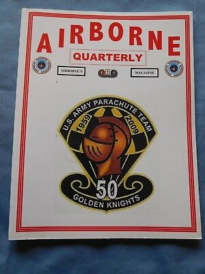 Airborne Quarterly Win 2009 Magazine WWII German Operations Norway Glider Crash