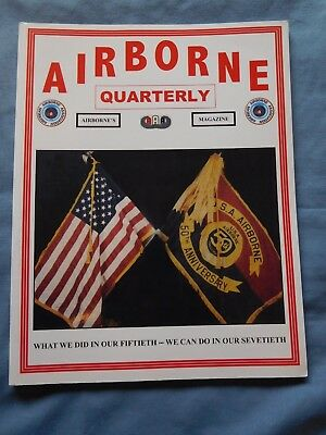 Airborne Quarterly Sp 2010 Magazine WW2 German Operations Pt 2 Gliders Doolittle