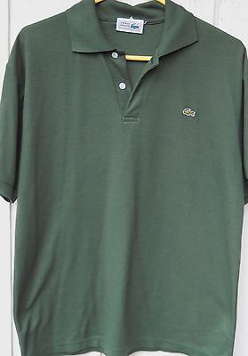 Large Chemise Lacoste Men's Shirt Bog Polo 6 Green Size wpgwH8