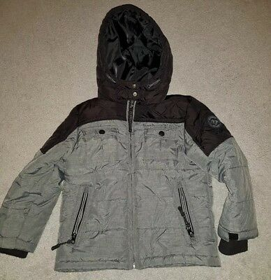 6289573d0e4a BOYS COAT FROM Pumpkin Patch age 5 in grey