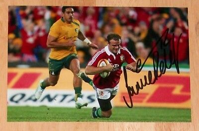 Jamie Roberts British Lions Rugby Personally Hand Signed Autograph Photo