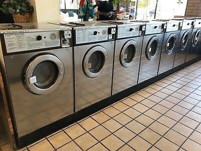 Wascomat Front Load Washer Double Load W74 120V Stainless Steel $300 each.