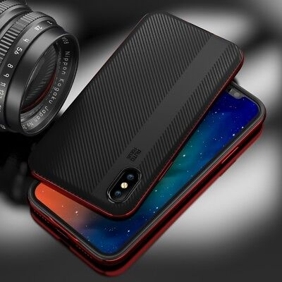 For iPhone X Case Hybrid Rubber Full Shockproof PC + TPU Cover Armour Ultra thin