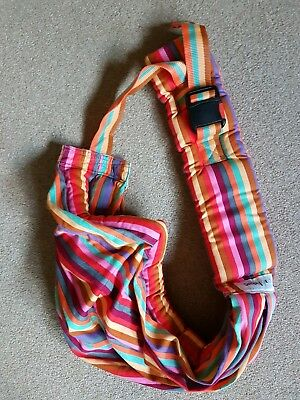 Simply Good Rainbow Snuggly Sling Baby Wearing
