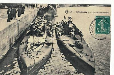 CPA   (59)  DUNKERQUE  Les  Submersibles N° 121