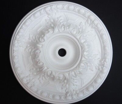 Decorators Bargain - 1 x Polystyrene Ceiling Rose 490mm // FREE P&P Shop Soiled
