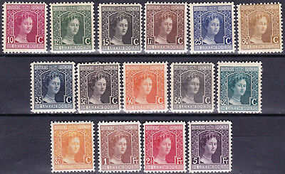 Luxembourg - 97 - 111 - Complete Mint Set - Look!