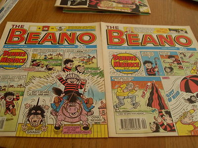 The Beano Comic Issue's No 2637 /2638 1993