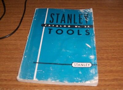 stanley tool catalog-1930s-vintage-rare-191 pgs with prices and pictures
