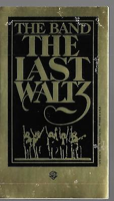 The Band   The Last Waltz    Warner Brothers Records Promotional Sticker