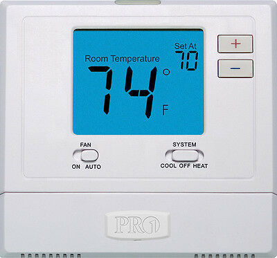 Rheem Ruud Pro1 T701 Non-Programmable Thermostat (GE/HP: 1H/1C)