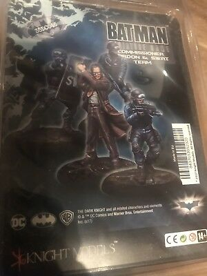 Knight Models Batman Miniature gane Commissioner Gordon & SWAT team